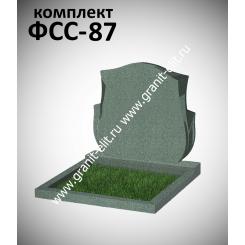 Памятник семейный ФСС-87, зеленый