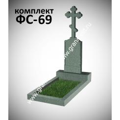 Памятник фигурный ФС-69, зеленый