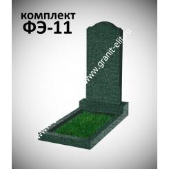 Памятник фигурный ФЭ-11, эконом, зеленый