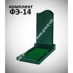 Памятник фигурный ФЭ-14, эконом, зеленый
