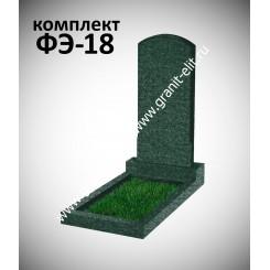 Памятник фигурный ФЭ-18, эконом, зеленый, высота 1000 мм