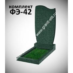 Памятник фигурный ФЭ-42, эконом, зеленый