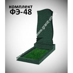 Памятник фигурный ФЭ-48, эконом, зеленый