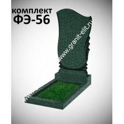 Памятник фигурный ФЭ-56, эконом, зеленый