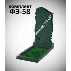 Памятник фигурный ФЭ-58, эконом, зеленый